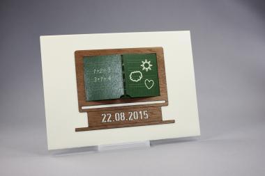 Schulanfangskarte - individuell